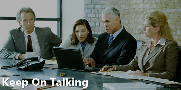 Keep on Talking - Business Meeting