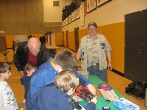 Al Ramsay At Mercer Island Science Fair | 3-5-2013