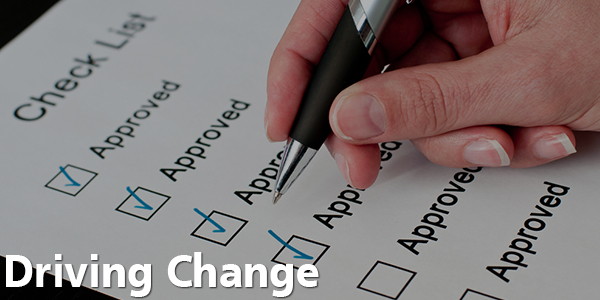 Driving Change - Check List