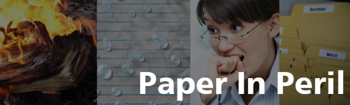 Paper In Peril