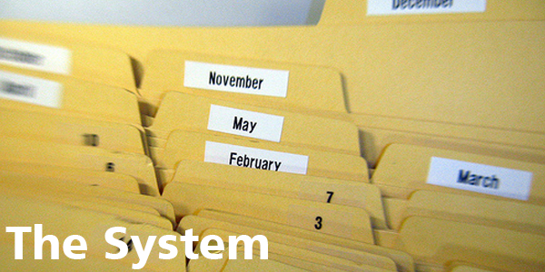 The System - Tickler File