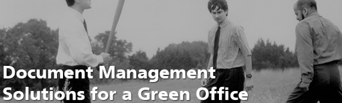 Document Management Solutions for a Green Office