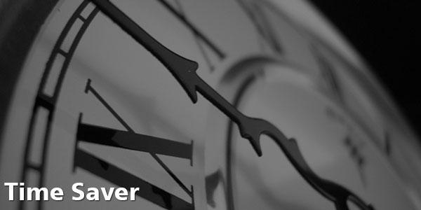 Time Saver - Large Clock