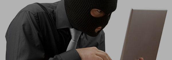 Risk Factors - Man Hacking USB Drive